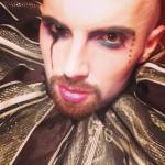 Adam dark clown ruff 2