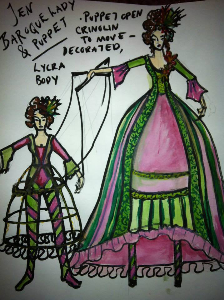 Baroque Costume Design