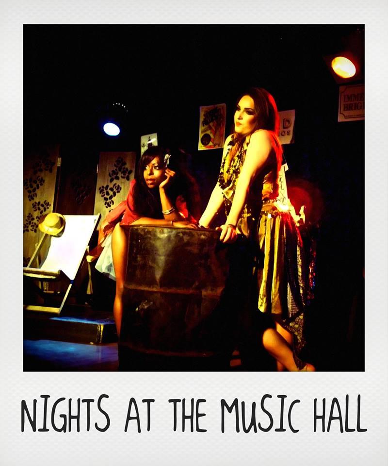 Nights at the Music Hall. Brighton Fringe 2014.