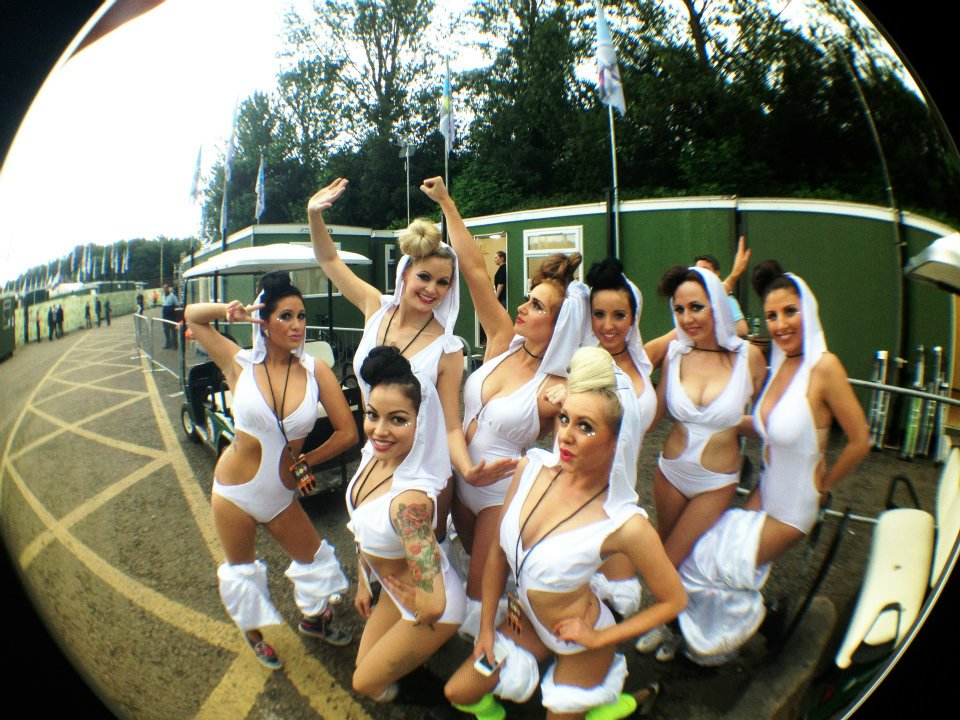 Costumes made for Showoff's Agency, dancers provided by Evolve Entertainment
