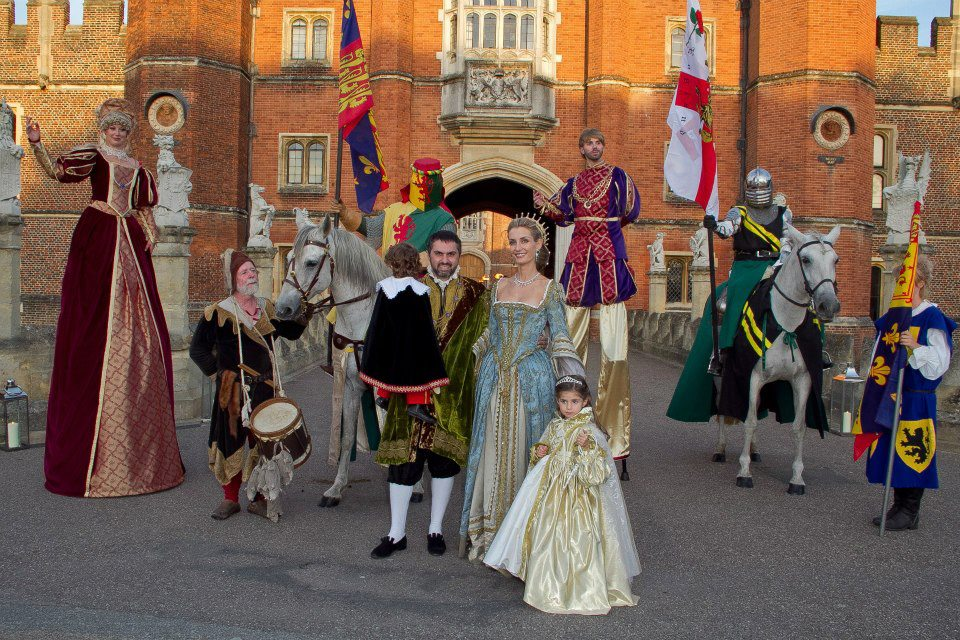 Tudor costumes for jentherooevents.com