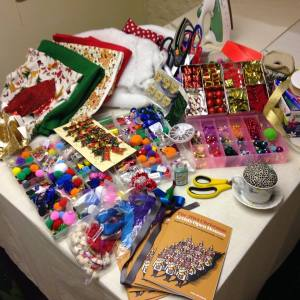 Festive workshop materials!