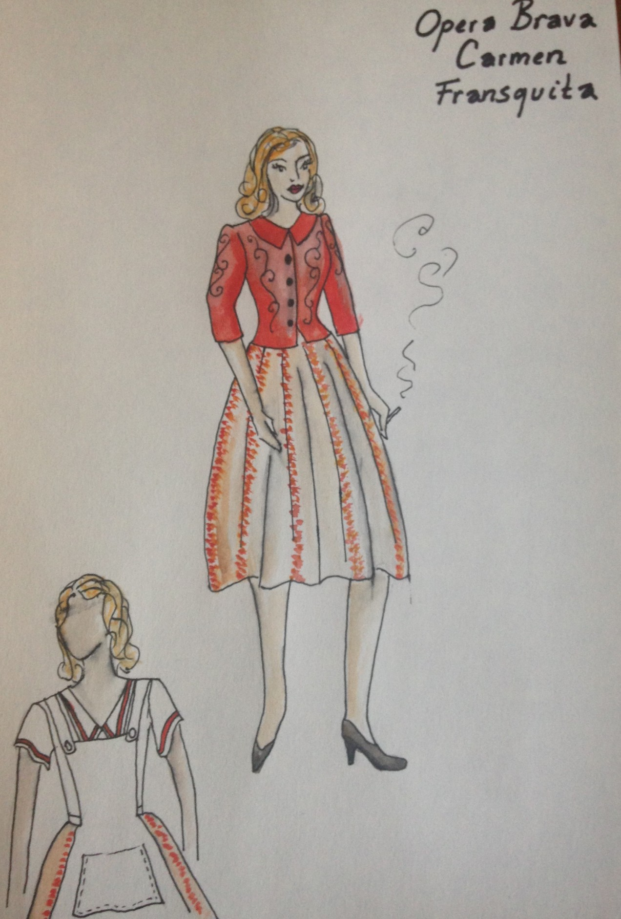 Design for Opera Brava's Carmen
